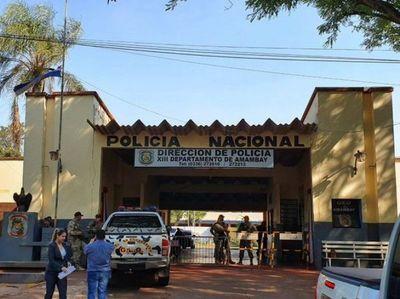 Resumen de novedades policiales en el departamento de Amambay