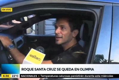 """Roque se queda y dice que el club debe explicar """"qué pasa"""""""