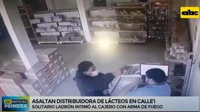 Asaltan una distribuidora de lácteos en Calle'i