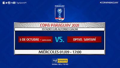 Comienzan los 16avos de la Copa Paraguay