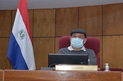 Senado quedará en manos de Sixto Pereira del 2 al 11 de septiembre por viaje a Corea de Salomón