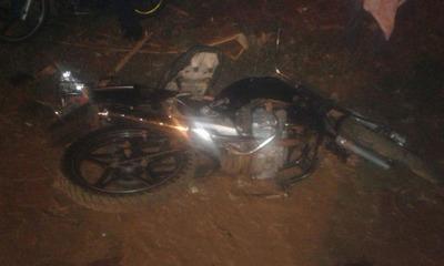 Militar fallece al caer de motocicleta en Caaguazú