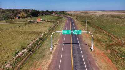 Habilitan ruta que conecta las localidades de Santa María de Fe y Santa Rosa en Misiones