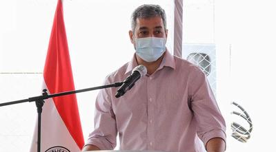 Marito volvió a jactarse de ser el presidente que más rutas asfaltadas construyó