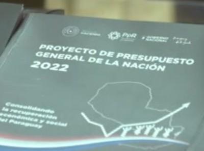 Presentaron proyecto de PGN 2022