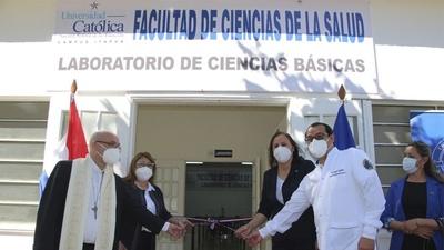 MODERNO LABORATORIO DE CIENCIAS BÁSICAS PARA FACULTAD DE SALUD DE LA UCI.