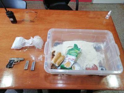 Encuentran presunta dinamita en gel y un arma de fuego cargada en cárcel de Encarnación