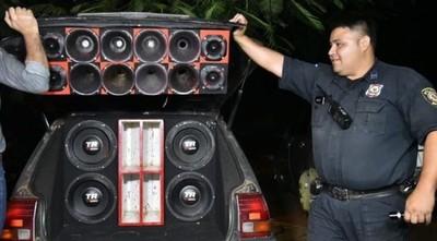 POLICÍA ACTUARÁ DE OFICIO CONTRA LOS AUTORES DE POLUCIÓN SONORA