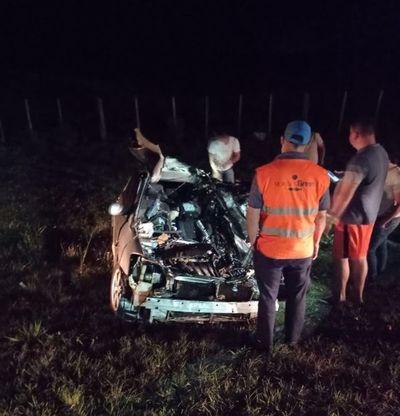 Joven sacerdote fallece en accidente de tránsito sobre la ruta PY03