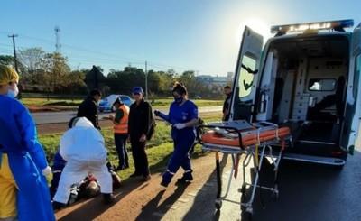 Mujer arrollada por motociclista no aguantó las lesiones y murió