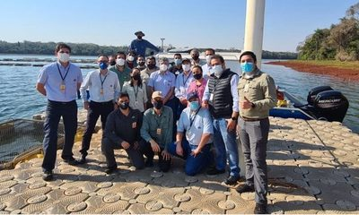 ITAIPU cuenta con nuevo equipo para estudios batimétricos del río Paraná y del embalse