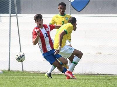 La Sub 17 se midió ante Brasil