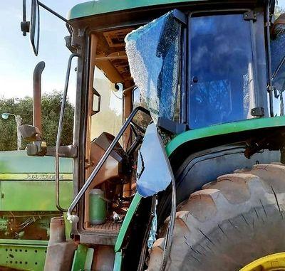 Supuestos campesinos atacan a tractorista en Itakyry