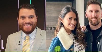 Ordenan detención de periodista por tuitear contra esposa de Messi