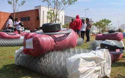 """Tekoporã: El proyecto """"Mi huerta"""" beneficia a 33 familias luqueñas •"""