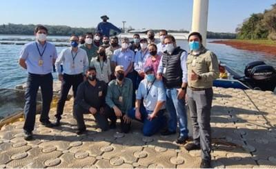 Nuevo equipo para estudios batimétricos del río Paraná