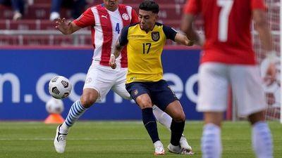 Paraguay cae sobre la hora frente a Ecuador