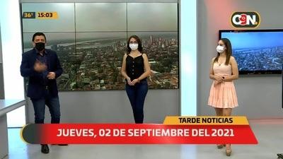 Tarde Noticias: Programa del 02 de Septiembre del 2021