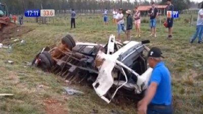 Misiones: 2 fallecidos en brutal accidente de tránsito