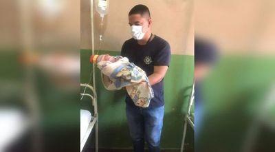 Bombero actuó de partero para ayudar a una mujer a dar a luz en Itapúa