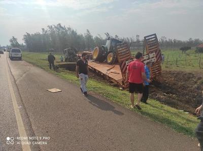Dos misioneros fallecen en accidente sobre la ruta PY01 San Ramón
