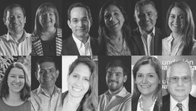 El Equipo de Fundación Paraguaya
