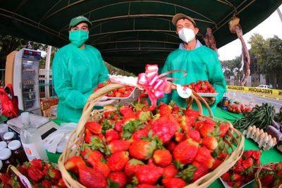 Feria de frutillas y orquídeas por tres días en Asunción