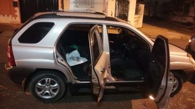 Cae guardiacárcel con supuesta cocaína en su poder en Asunción