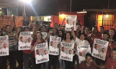 Ernesto Guerín suma, y confía en que la ANR tendrá mayoría de concejales – Diario TNPRESS