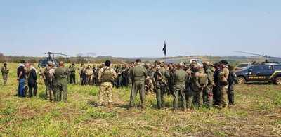 Paraguay y Brasil anulan 218 hectáreas de cultivos de marihuana tras 10 días de operaciones
