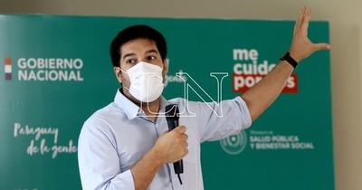 La Nación / Sequera destaca 90% de descenso de contagios en Central