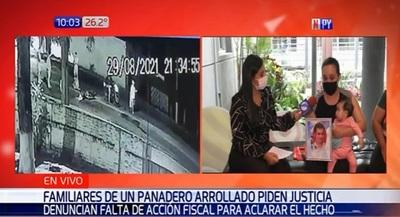 Familiares de panadero arrollado piden justicia