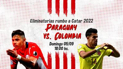 Paraguay vs. Colombia lo vas a vivir a través de Tigo Sports