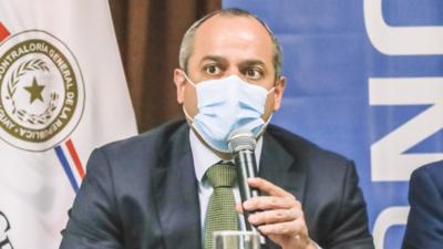Camilo Benítez es reelecto contralor