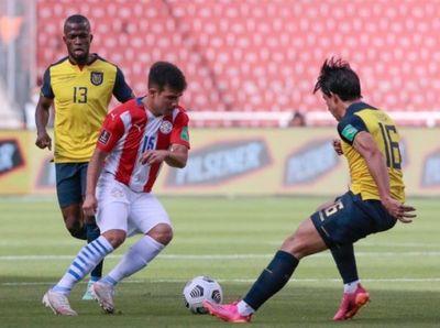 La Selección Paraguaya no pudo ante Ecuador