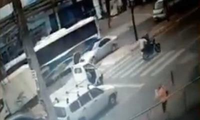 Policía fallece tras un asalto en Asunción