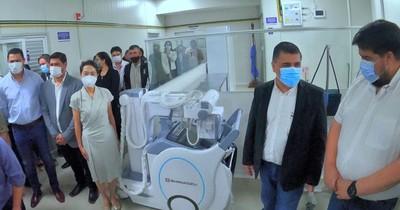 La Nación / Hospital General de Luque inauguró nuevo pabellón de contingencia con 16 camas más