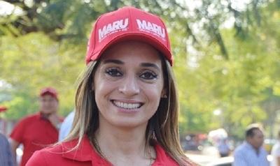 """""""Estamos preparados para tener a una mujer como Presidente de la República"""", afirmó parlasuriana Maru Crichigno"""