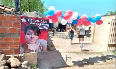 """""""Sigamos escribiendo historias de gestión y compromiso"""", exhorta Eva Caje, candidata asuncena a concejal por la ANR"""