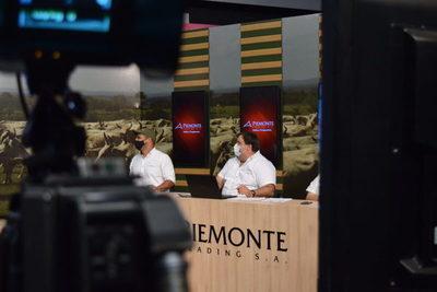 """Piemonte destaca 300 vaquillas para servicio tipo Brangus de """"La Gauloise"""" en feria televisada"""