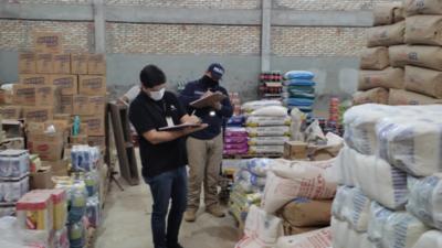Fiscalía allana locales comerciales e incauta mercaderías de contrabando