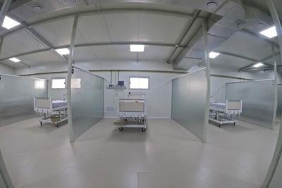 Hospital Regional de Luque inauguró nuevo pabellón con 16 camas