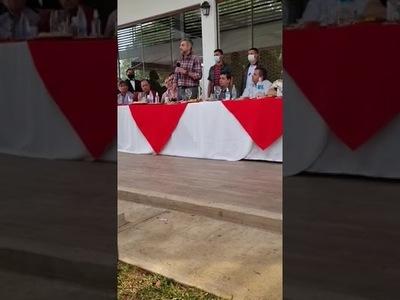 El Pte. Mario Abdo anuncia que Hugo Velázquez será su sucesor