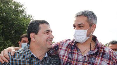 Mario Abdo dijo que espera entregar mando a Velázquez