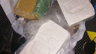 Un guardiacárcel es detenido con cuatro panes  de droga