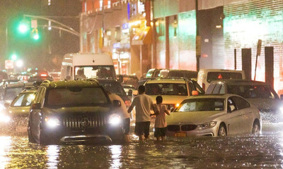 Deja 42 fallecidos graves inundaciones en Nueva York