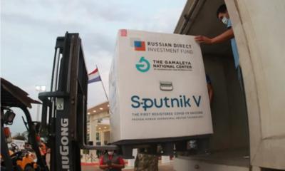 Sputnik V: se reciben 35.000 dosis del segundo componente
