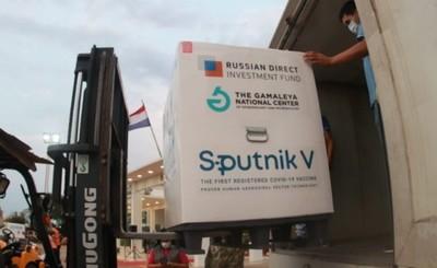Arribó nuevo lote de 35.000 dosis del componente do de la Sputnik V