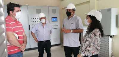 Representante del BID verificó plantas de tratamiento cloacal de Asunción