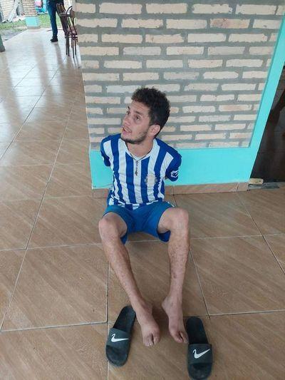 Cae sospechoso de matar y quemar a un ciudadano alemán en su residencia de Caacupé